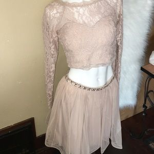 New two piece skirt set